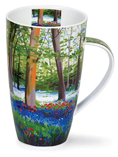 Dunoon Henley Bluebell Wood Red 20oz Mug