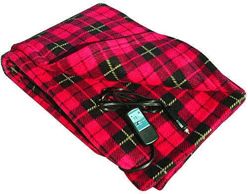 Trillium WorldWide TWI-2001 Car Cozy 2 12V Travel Blanket, R