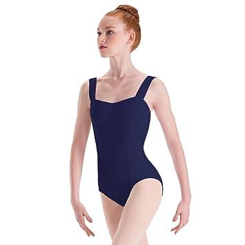 846331270 Amazon.com   Motionwear Long Torso Wide Strap Cami Dance Leotard ...