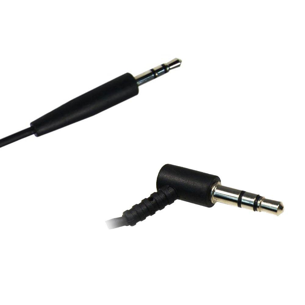 AGS Retail-Audiokabel f/ür Bose QuietComfort 35//QC35 Kopfh/örer Schwarz