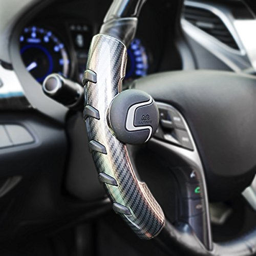 Car Steering Wheel Spinner Black Suicide Steering Wheels Power Knob Zone Tech Silicone Power Handle