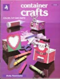 Container crafts: Color, cut and paste
