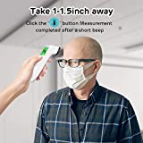 Touchless Thermometer, Forehead Thermometer with