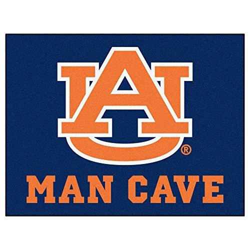 FANMATS 14529 Auburn University Nylon Universal Man Cave All-Star Mat
