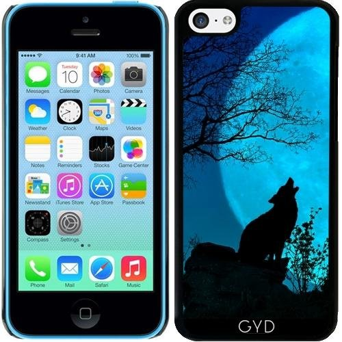 Coque pour Iphone 5c - Loup Hurlant by PINO