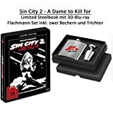 BR BOX Sin City 2 - A Dame to Kill for 3D - Limited Edition Steelbook (inkl. Flachmann)