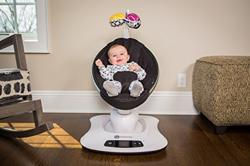 4moms mamaRoo 4 Bluetooth-Enabled high-tech Baby Swing – Classic Nylon Fabric with 5 Unique motions by 4moms (Image #6)
