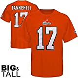 New NFL Majestic Ryan Tannehill Miami Dolphins Eligible Receiver Orange Throwback Player Shirt Big and Tall Size XLT
