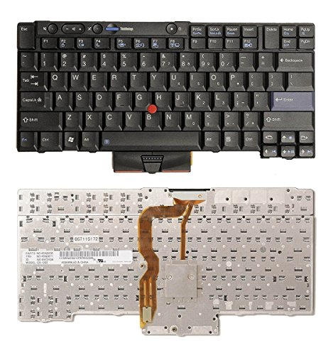 aGood Original US Layout Laptop Keyboard For Lenovo IBM Thinkpad T400S T410S T410 T410I T420 T420S T510 T510I T520 T520i X220T X220s X220i X220 W510 W520 Competible FRU 04W2753 45N2106 45N2211 45N2141