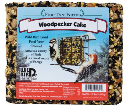 Woodpecker Seed Cake,8 pack,2.5lbs each (Woodpecker Cake)