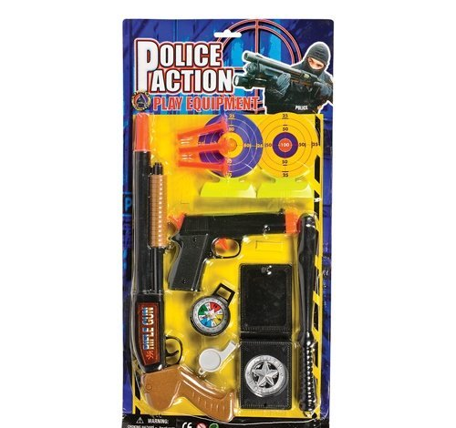 8 PC POLICE ACTION FORCE DART SET, Case of 48