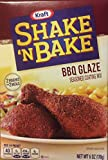 Shake 'N Bake Seasoned Coating Mix, BBQ Glaze, 6-Ounce Boxes (Pack of 8)