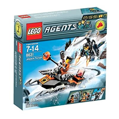 LEGO Agents Jet Pack Pursuit: Toys & Games