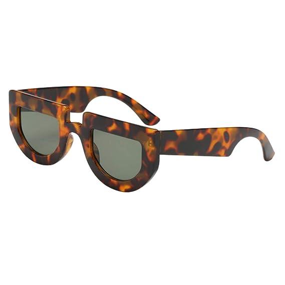 Sharplace Gafas de Sol Polarizadas Protección UV 400 para Mujer Hombre - Lente verde oscuro,