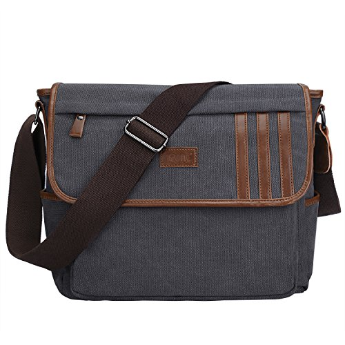 S ZONE Lightweight Canvas Messenger Shoulder