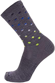 product image for Point 6 Active Lifestyle Extra Light Crew Sock (Medium, Grey)