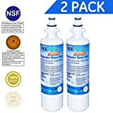 Icepure RWF1200A 2PACK Refrigerator Water Filter Compatible with LG LT700P, ADQ36006101 ,KENMORE 469690
