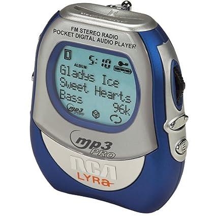 amazon com rca rd2010 128mb lyra flash mp3 player with fm tuner rh amazon com RCA Clock Radio Manual rca lyra rd1028a manual