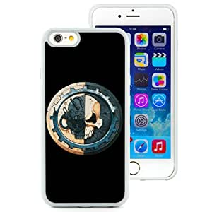 Grace Protective,DIY Iphone 6 Case Design with Adeptus Mechanicus White TPU Phone Case for Iphone 6th 4.7 Inch