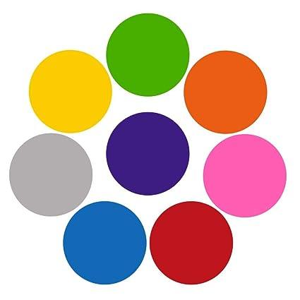 Bulary 8 Piezas Fabricante de pizarras Blancas Círculos de ...