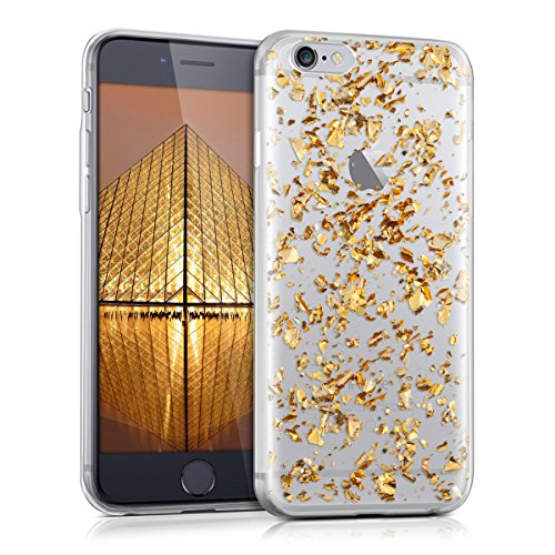 kwmobile-crystal-tpu-silicone-case-for-apple-iphone-6-6s-in-gold-transparent-design-flakes