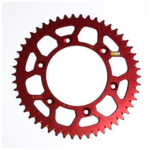 ProTaper Race Spec Aluminum Rear Sprocket - Red - 52T (520) 033240 - Honda Aluminum Sprocket