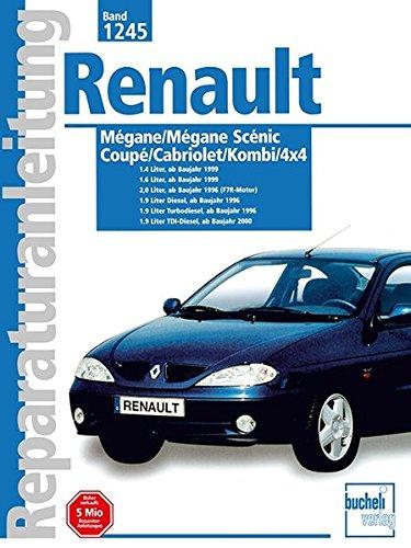 Renault Megane Scenic/ Coupe/ Cabriolet Baujahre 1995 bis 2000. ()