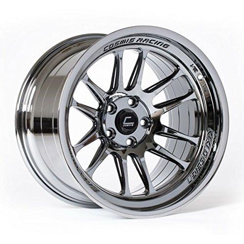 Cosmis Racing XT-206R 18x11 +8mm 5x114.3 Black Chrome Rim Wheel