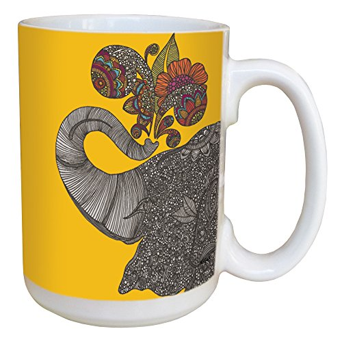 Tree-Free Greetings 45545 Valentina Ramos Shower of Joy Ceramic Mug with Full-Sized Handle, 15-Ounce