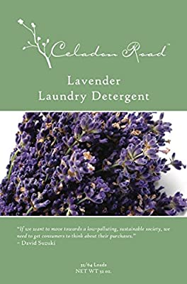 Celadon Road Lavender Laundry Detergent REFILL All Natural Ingredients MADE IN USA Ultra Concentrated - Sulfate-Free and Phospate Free - 192 HE loads 96oz