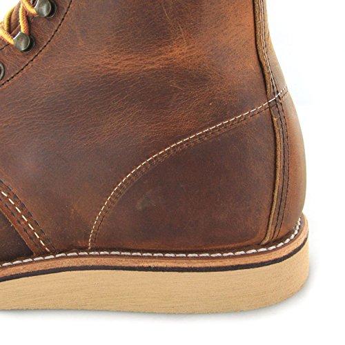 Classica Stringata Rame Fashion FB Boots Adulto Unisex tfztqx