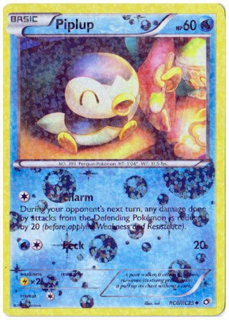 Pokemon - Piplup (RC6/RC25) - Legendary (Piplup Pokemon)