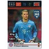 Panini Adrenalyn XL FIFA 365 Manuel Neuer Defensive Rock Trading Card