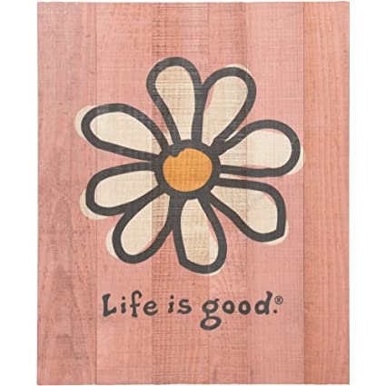 Amazon.com: Life is good Daisy Wall Art, Candy: Home & Kitchen