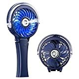 Best Misting Fans - COMLIFE Handheld Misting Fan, Mini Rechargeable Battery Operated Review