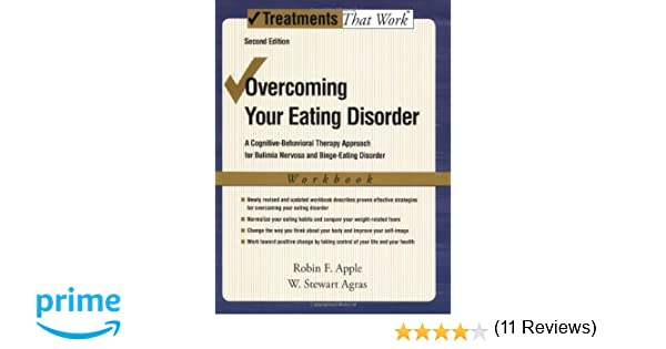 Amazon.com: Overcoming Your Eating Disorder, Workbook: A Cognitive ...