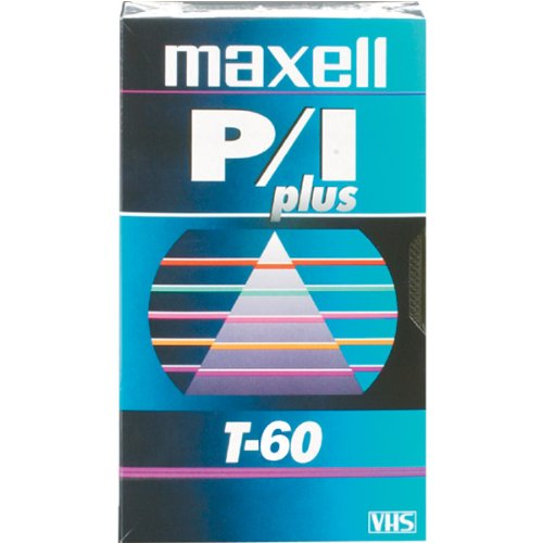 MAXELL T-60 PLUS Professional Videocassette for Time-Lapse Use (Discontinued by Manufacturer)