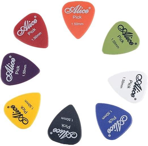 KEAIOU - Púas de Guitarra con Soporte para púas, estándar ...