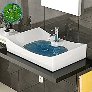 Dise o lavabo sin rebosadero lavabo con nano for Embellecedor rebosadero lavabo