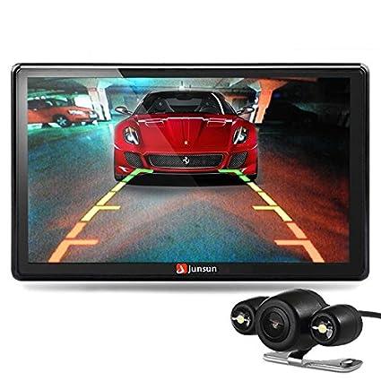 """Junsun 7"""" Reproductor de DVD CD GPS Navegación Bluetooth Pantalla Táctil Radio 2 DIN Estéreo"""