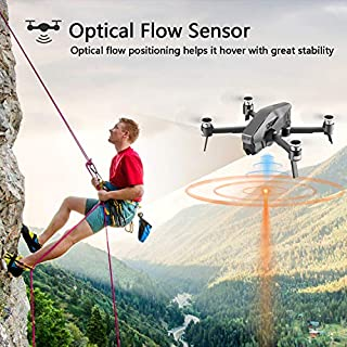4DRC M1 Foldable GPS Drone with 4K FHD 5G transmission FPV Camera Live Video for Adults Quadcopter with Brushless Motor, Auto Return Home, Follow Me, 30 Minutes Flight Time, 1600M Control Range, Black