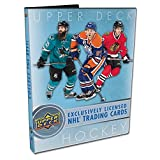 2017-18 Upper Deck Series 1 Starter Kit NHL hockey cards with Binder