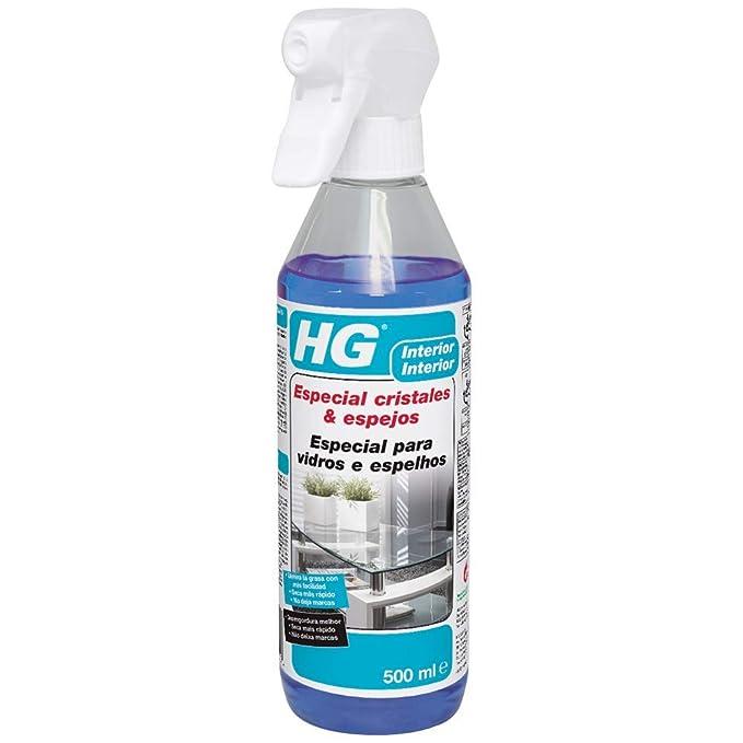 HG 142050109 - Especial Cristales y Espejos (envase de 0,5 L): Amazon.es: Salud y cuidado personal