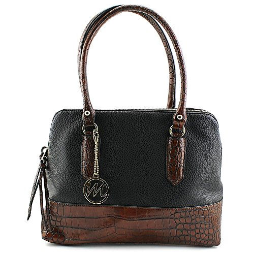 emilie-m-linda-compartment-satchel-top-handle-bag-black-mahogany-croco-one-size