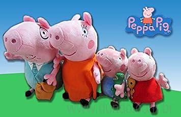 Peppa Pig FAMILIA (Mamá Pig, Papa Pig, Peppa Pig y George Pig)