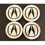 Acura TL, RSX, CL, TSX, MDX, RL, EL Wheel Center Caps 4PCS/SET