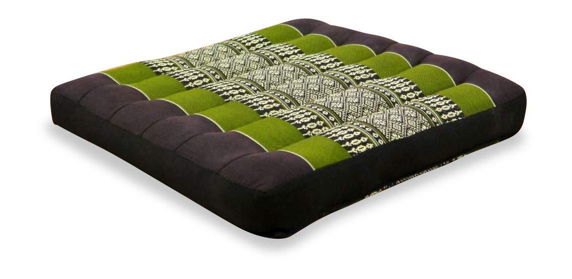 Carr/é 35 x 35 x 6,5 cm Coussin de Chaise ou de Fauteuil de Jardin Coussin de Sol Rembourrage en Kapok livasia