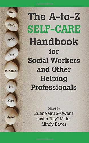 Self Care Handbook Workers Helping Professionals product image
