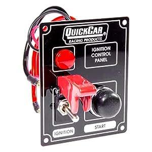 QuickCar 50-053 Dash Mount Car Switch Panel