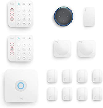 Ring Alarm 14-piece Security Kit (2nd Gen) with Echo Dot